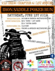 Ch. 4 Edson's 1st Annual Iron Saddle Poker Run